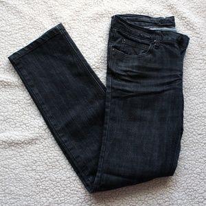 Urban Behavior Dark Wash Straight Jeans